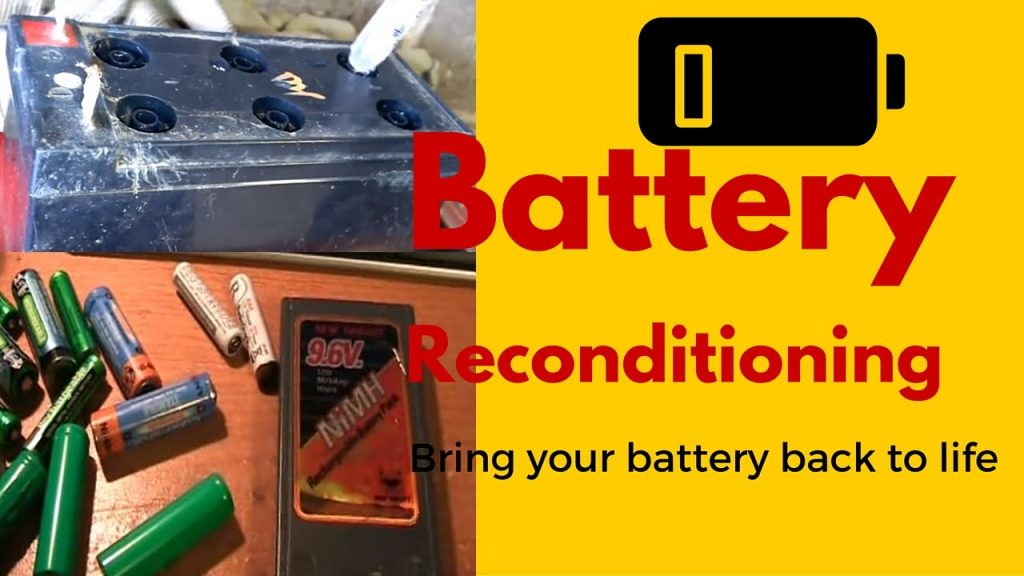 Battery Reconditioning- Battery Companies PRAY You Never See This Revealing Video