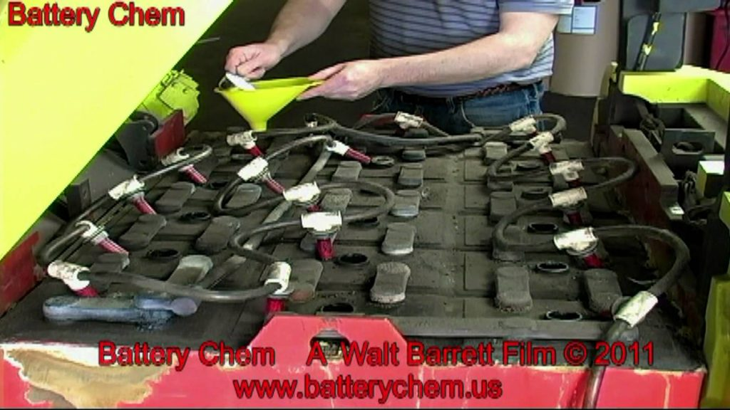 How To Recondition Electric Forklift Batteries SAVE $6,000.00 by Walt Barrett