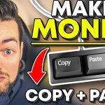 MAKE MONEY ONLINE WITH COPY & PASTE! {EASY & FAST} 2018