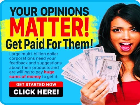 Work from Home. Take Surveys For Cash