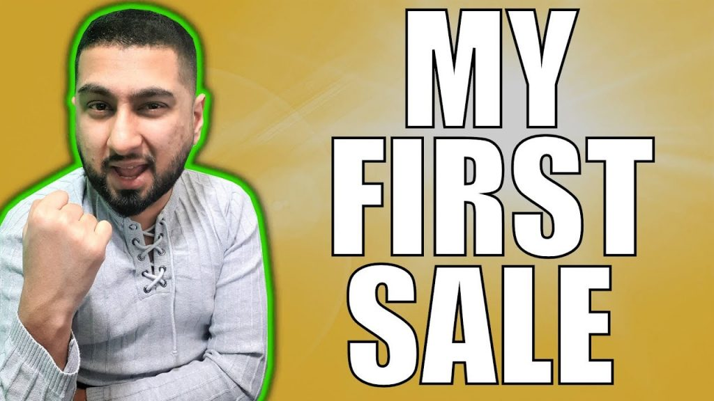 How to Make Money Online with no Money Part 2 – (MY FIRST SALE)