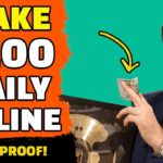 How To Make Money Online With ZERO MONEY In 2019 ($100 PER DAY)