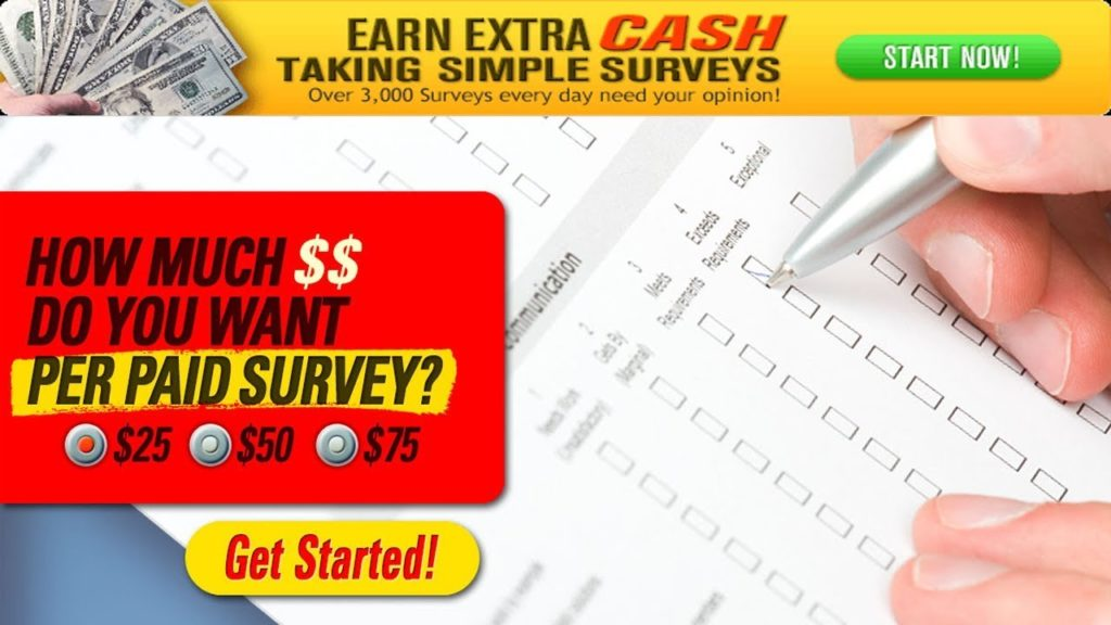 Take Surveys For Cash – #1 Paid Survey Site | Watch to see Payment Proof