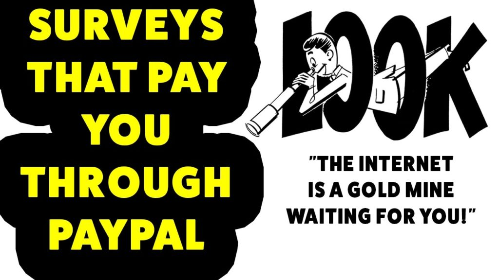 Surveys That Pay You Through Paypal – Surveys That Pay Cash Through Paypal