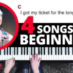 4 Songs That Are Perfect For Beginners (Piano Lesson)