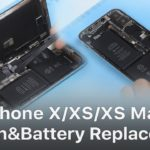 Repair Shop Tips | iPhone X/XS/XS Max Screen and Battery Replacement