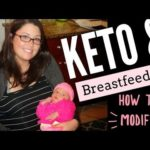 How to Follow a Low Carb / Keto Diet While Breastfeeding & how to modify   Ashley Salvatori