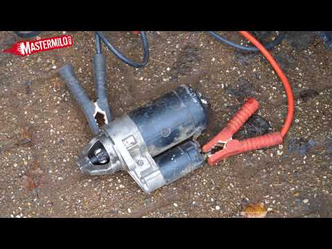 How a starter motor works – Fixing a lazy starter