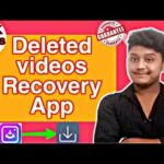 😱 OMG recovery Deleted Videos App 10 year old video recovery in 1 min Hindi