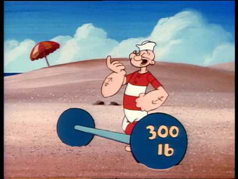 All-New Popeye: A Day at Muscle Beach Videos For Kids