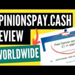 OpinionsPay.Cash Review –  Earn With Paid Surveys – $1 Minimum ★WorldWide★
