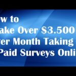 Take Surveys For Cash Review I How To Make Money From Home?